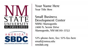 NMSU Small Business Development Centers, Alamogordo