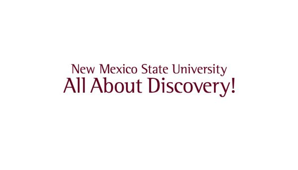 """NMSU """"All About Discovery"""" Back Template"""