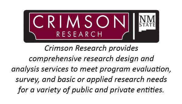NMSU Crimson Research Back Template
