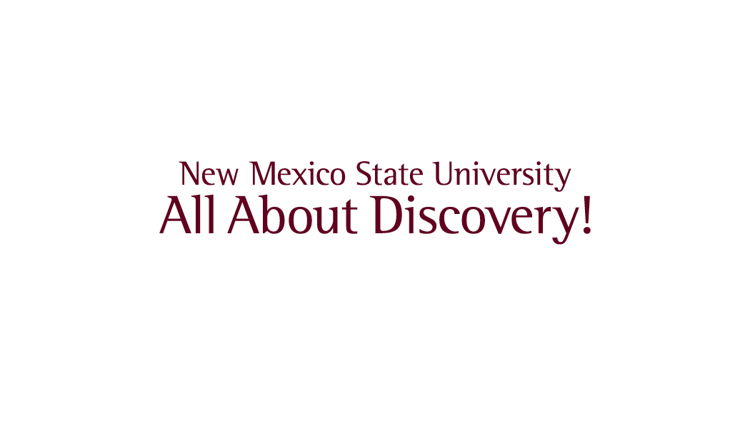 "NMSU ""All About Discovery"" Back Template"