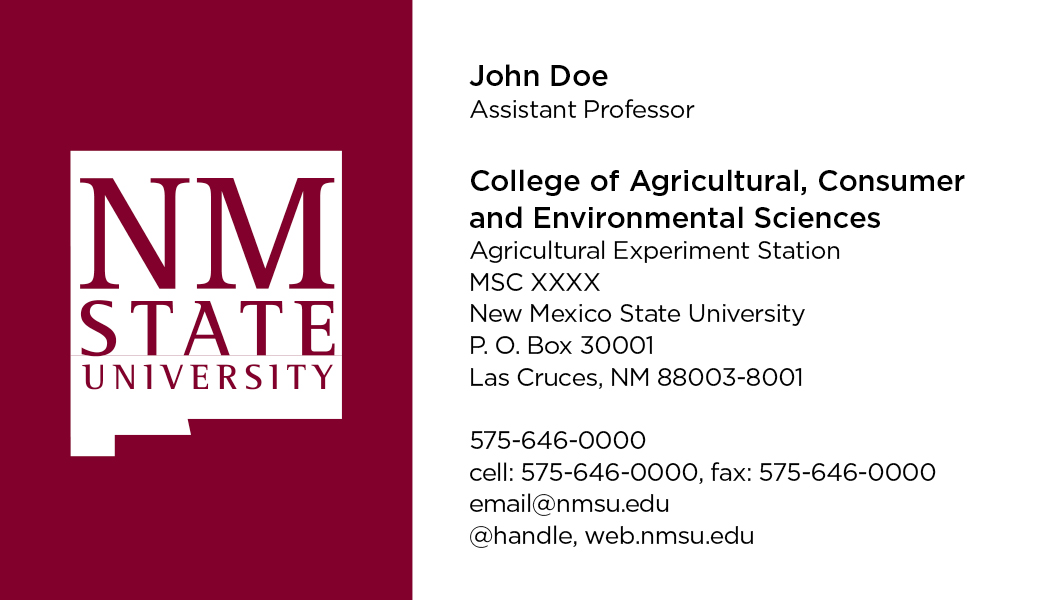 NMSU College of ACES - Agricultural Experiment Station - Business ...