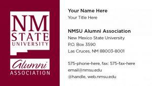 NMSU Alumni Association - Business Cards